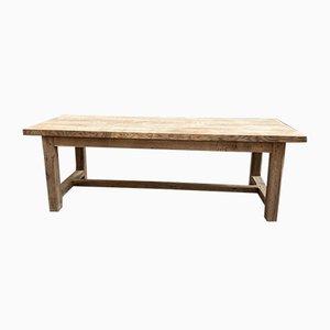Table de Ferme et Bancs en Chêne, Set de 3