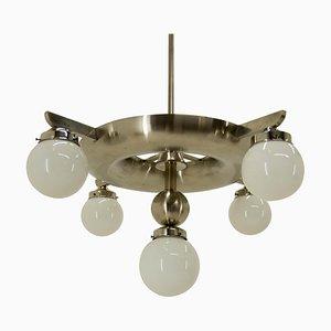 Lámpara de araña Bauhaus de Ias, años 20