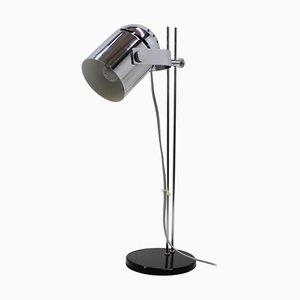 Lámpara de mesa ajustable cromada de Stanislav Indra, Czechoslovakia, años 70