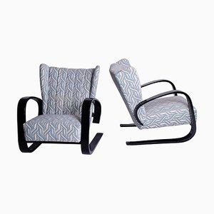 Armlehnstühle von Alvar Aalto, 2er Set