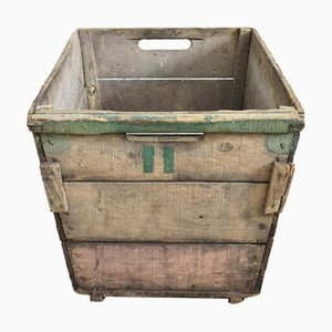 Antique French Champagne Trug