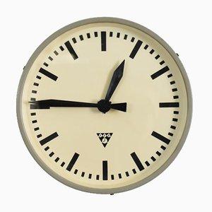Runde Tschechische Vintage Pragotron Uhr