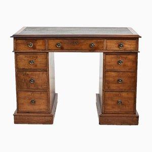Vintage Twin Pedestal Desk