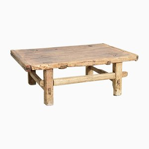 Small Elm Coffee Table