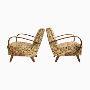 410 Model Armchairs by Jindrich Halabala, Set of 2