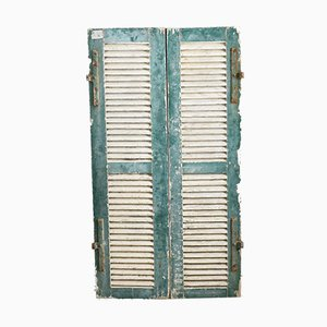 Louvre Vintage French Shutters, Set of 2