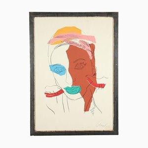 Litografia Di Andy Warhol, Serigrafia a colori su carta, 1975