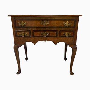 Antique George III Oak Lowboy