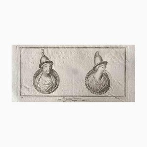 Various Old Masters, Capital Letter, Etching, 1750s