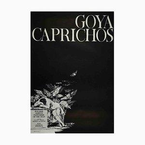 Unbekannt, Goya Caprichos Poster, Vintage Offsetdruck, 1975