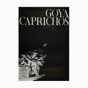 Unknown, Goya Caprichos Poster, Vintage Offset Print, 1975