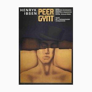 Unbekannt, Peer Gynt Poster, Vintage Offsetdruck, 1975