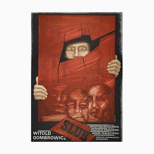 Unbekannt, Slub Poster, Vintage Offsetdruck, 1976