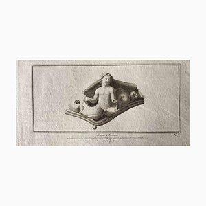 Aguafuerte, varios maestros antiguos, década de 1750
