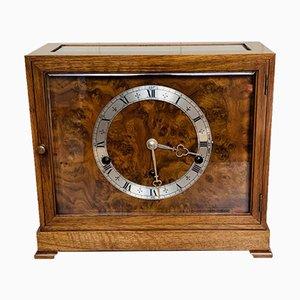 Walnut Chiming Mantel Clock from Elliott of London