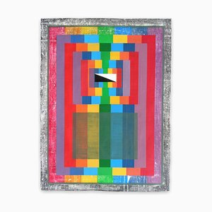 Organic Geometry, Spectrum I , Abstract Painting, 2020