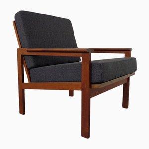 Teak Capella Armchair by Illum Wikkelsø for Niels Eilersen, 1960s