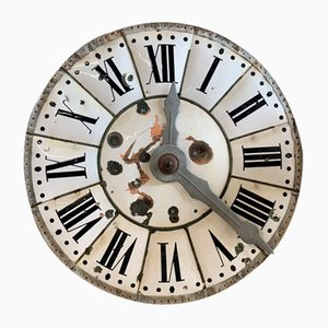 French Church Tower Clock Face