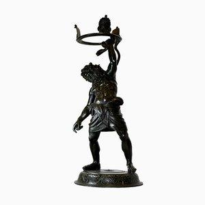 Sileno Pompeiano, Bronze Sculpture, Chiurazzi
