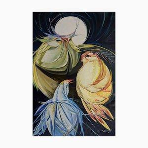 Lucio Esposito, Polychrome # 2, olio su tela
