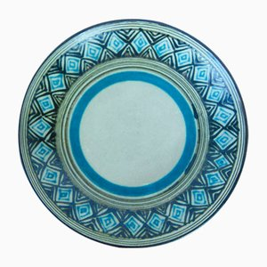 Ceramic Wall Plate from Eva Kumpmann, 1960s