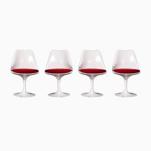 Tulip Stühle von Eero Saarinen für Knoll Inc. / Knoll International, 4er Set