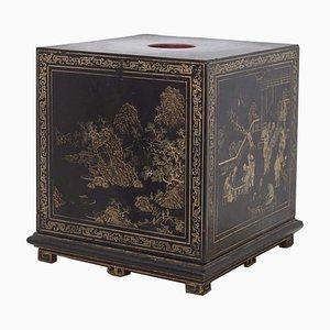 Candelabro chino antiguo de madera
