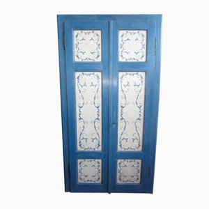 Lacquered and Hand-Painted Wardrobe