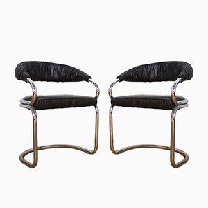 Stühle von Giotto Stoppino, 1970er, 4er Set
