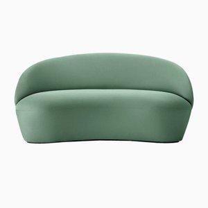 Sofá de dos plazas Naïve en verde menta de etc.etc. para Emko
