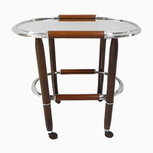 Glass Serving Trolley