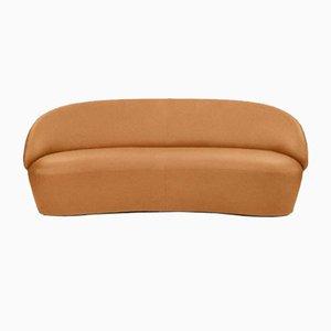 Naïve 2-Sitzer Sofa in Vintage Cognac Leder von etc.etc. für Emko