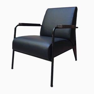 Poltrona nera di Jean Proven per Vitra, 2019