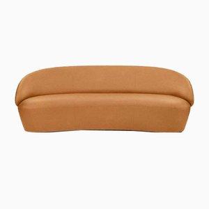 Naïve 3-Sitzer Sofa in Vintage Cognac Leder von etc.etc. für Emko
