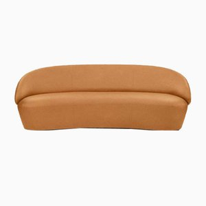 Naïve Sofa 3-Seater in Vintage Cognac Leather by etc.etc. for Emko