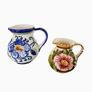 Italienische Vintage Keramikvasen von Claudio Bernini, 2er Set