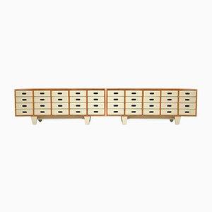 Mid-Century Sideboards by James Leonard for Esavian Esa, 1950s, Set of 2