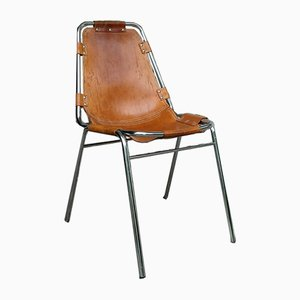 Vintage Les Arcs Dining Chair by Charlotte Perriand, 1960s