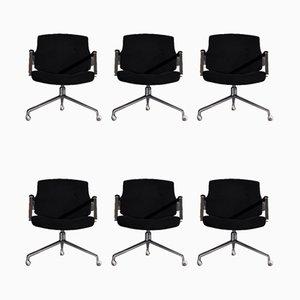 Chairs by Jørgen Kastholm for Kill International, Set of 6