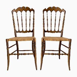 Chiavari Chairs, Set of 2