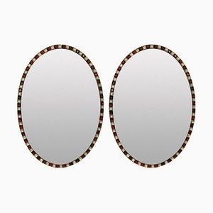 Irische Spiegel im georgianischen Stil, 1970er, 2er Set