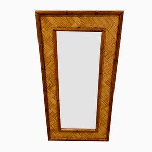 Specchio in bambù della Martinica