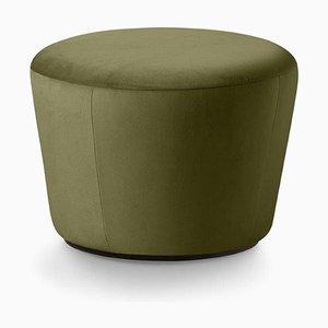 Naïve D520 Pouf in grünem Velours von etc.etc. für Emko