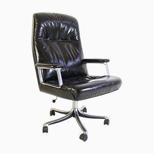 Mid-Century P125 Desk Chair by Osvaldo Borsani for Tecno Italy