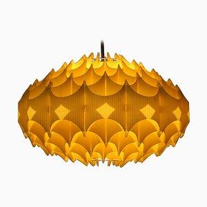 Big Danish Plastic Honeycomb Pendant by Le Klint, 1970s