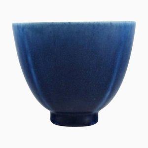 Glasierte Keramik Selecta Schale von Berndt Friberg für Gustavsberg