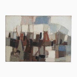 Dick Zwier, Abstraktes Gemälde, 1967