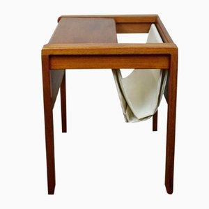 Revistero danés de teca de D-Scan, años 60