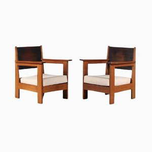 Easy Chairs From Haagse School, 1930s