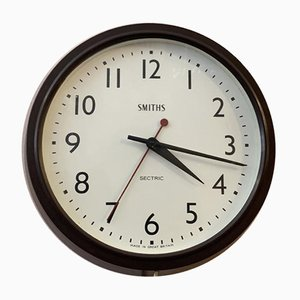 Bakelite Wall Clock from Smiths Sectric, 1930s